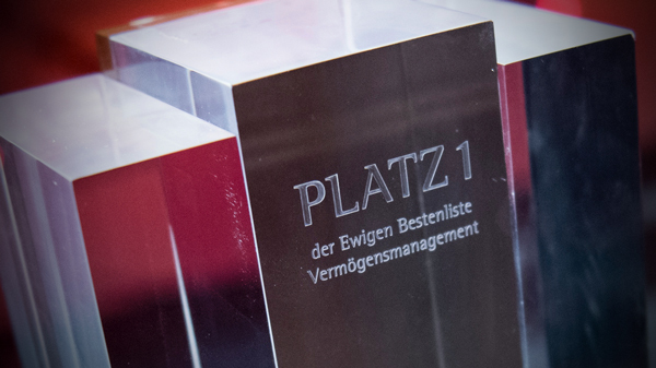 Private Banking Award der Private Banking Prüfinstanz