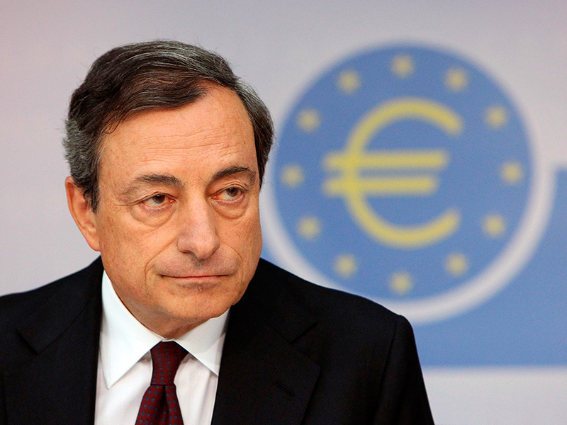 Mario Draghi, EZB-Chef