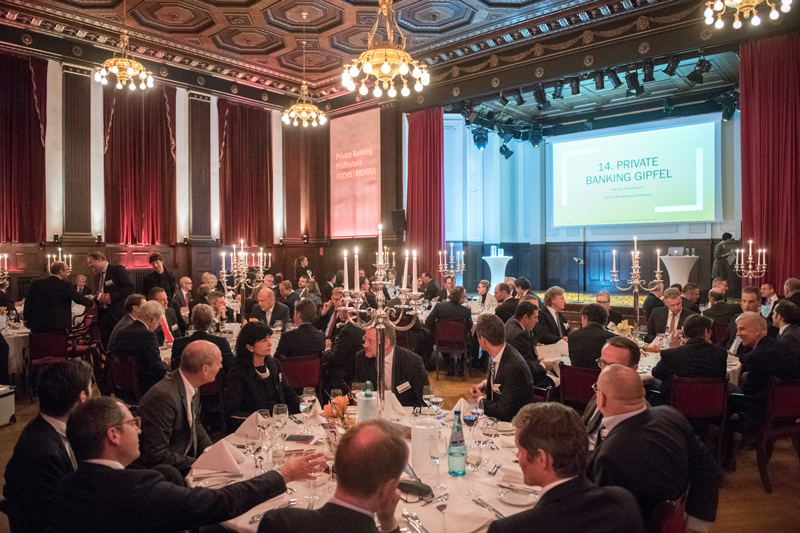 14. Private Banking Gipfel im Meistersaal