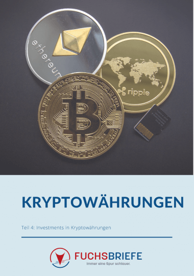 Cover: Kryptowährungen Dossier, Investements in Kryptowährungen