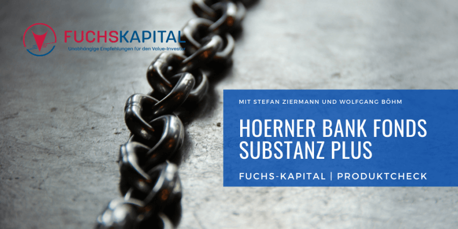 Hoerner Bank Fonds Substanz Plus