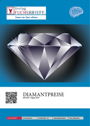 Diamantenpreisliste Juli August 2018