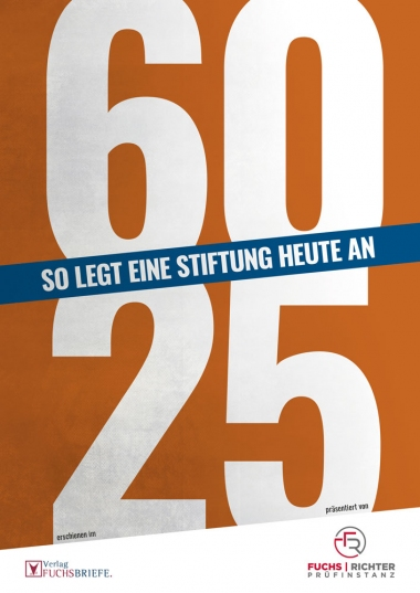 Cover Stiftungsreport 2019: 60 25 - So legt eine Stiftung heute an