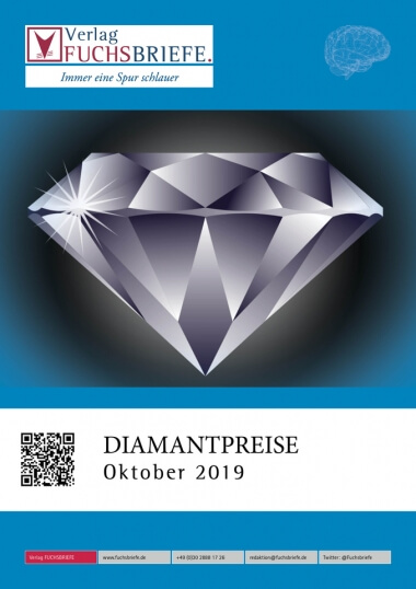 Cover Diamantpreisliste Oktober 2019
