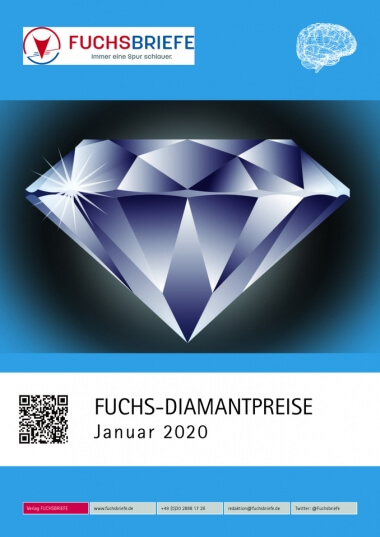 Cover Diamantenpreisliste Januar 2020