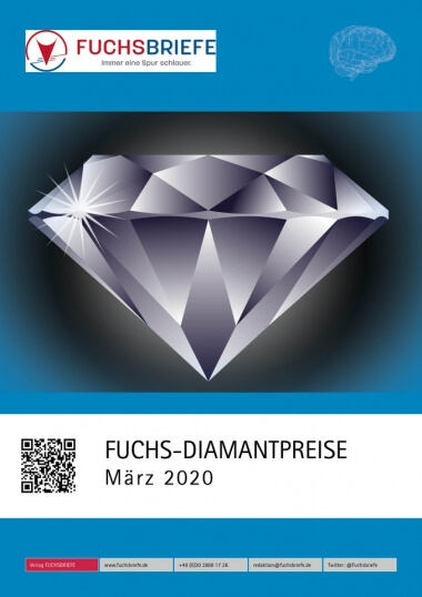 Cover Diamantenpreisliste März 2020