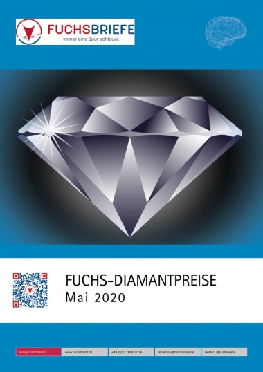 Cover Diamantenpreisliste Mai 2020